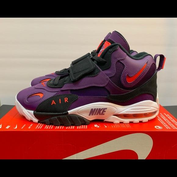 Nike Air Max Speed Turf Size 10 Purple White 4da739885f